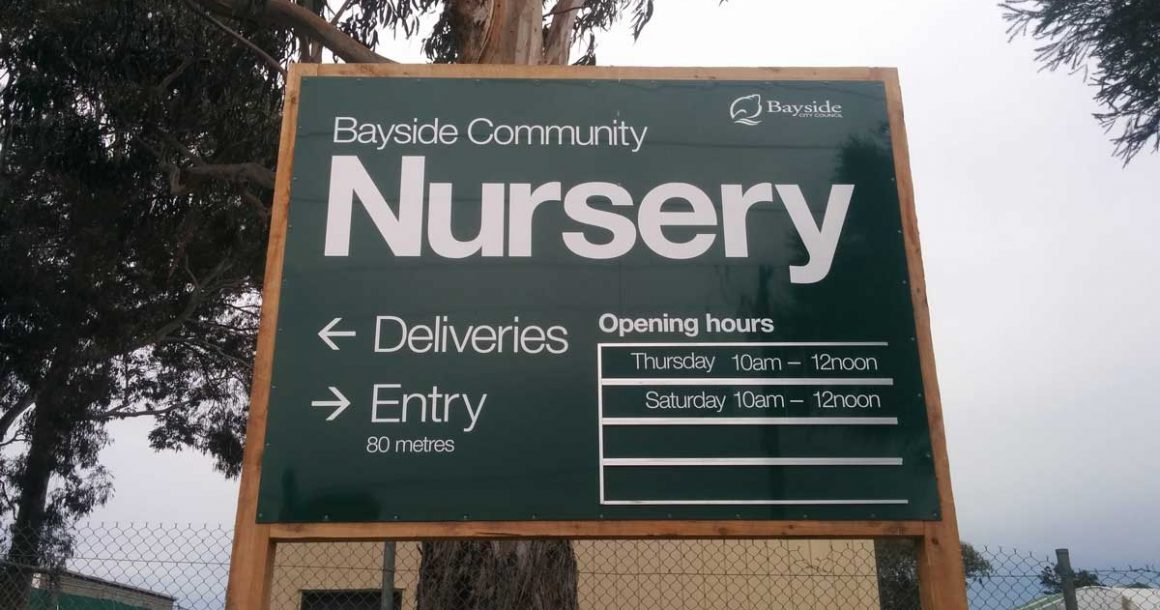 Update of nursery management and bushland maintenance model
