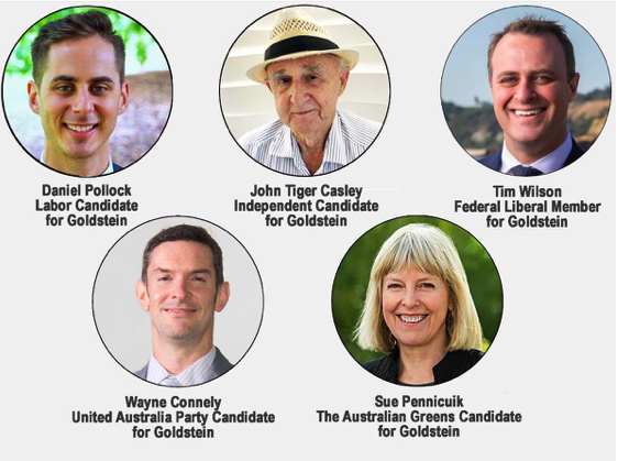 View the Candidates Forum on Climate policy