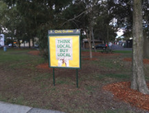Campaign 2008B: Reducing Beaumaris foreshore's over-abundance of signs